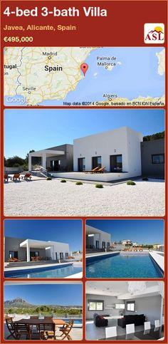 4-bed 3-bath Villa in Javea, Alicante, Spain ►€495,000 #PropertyForSaleInSpain