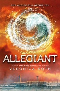 Allegiant novel by Veronica Roth with English version language