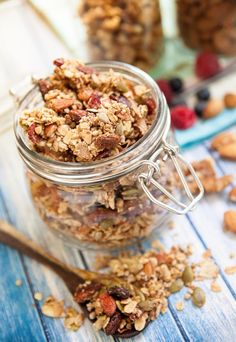 Nutty Granola by Wisnu Haryo Yudhanto on 500px, Food, Food Photography