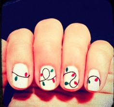 This one I'm going to try... I have a nail art pen and toothpicks.  Should do the trick!?!