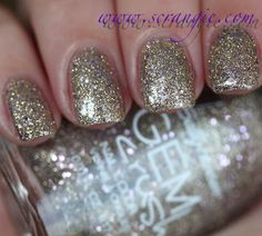 Sally Hansen - Big Money *swatched on one nail on a nail wheel * -$3