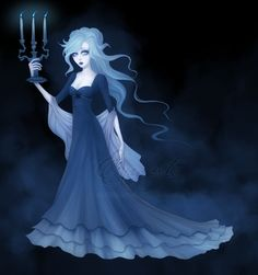 The blue candles ~ Enamorte