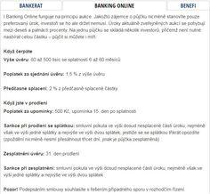 Ze srovnání P2P tržišť v České Republice na: www.penize.cz  #p2p #bankingonline #penize #pujcky #investice