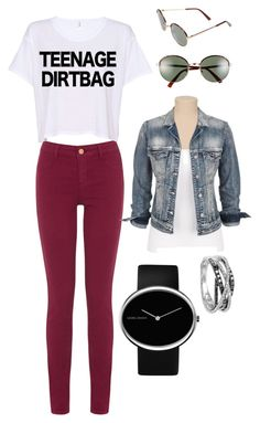 """Modern Teen"" by katielynnr ❤ liked on Polyvore featuring Oasis, Georg Jensen, Silver Jeans Co., A.J. Morgan, Effy Jewelry and modern"