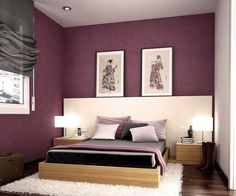 100 Awesome Colorful Modern Bedroom You Can Try