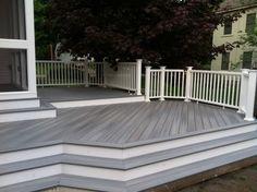 Grey & White Deck