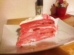 Jahodový crepe cake (fotorecept) - obrázok 22