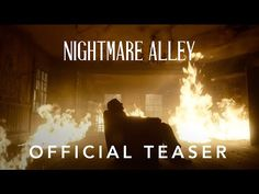 (1) NIGHTMARE ALLEY | Official Teaser Trailer | Searchlight Pictures - YouTube Latest Movie Trailers, New Trailers, West Side Story, Shows On Netflix, Bradley Cooper, Upcoming Movies, Official Trailer, Geek Culture, Movies Showing