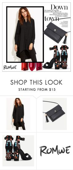 """""""Romwe 2/29"""" by goldenhour ❤ liked on Polyvore"""