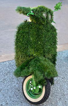 Vespa & Green Life