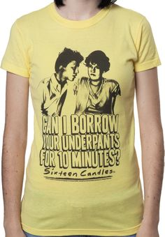 Sixteen Candles Farmer Ted Underpants T-Shirt