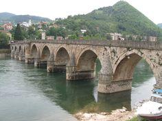 Stari most Mehmed-paše Sokolovića na Drini - na Drini ćuprija