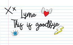 Afscheidsbrief aan Lyme