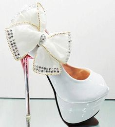Bows Shoes Galore stiletto heels  2013 Fashion High Heels 