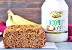 Paleo Coconut Oil Banana Bread - Powered by @ultimaterecipe