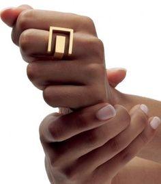 "Angela Hubel | ""Schlossgarten"" Gold Ring"