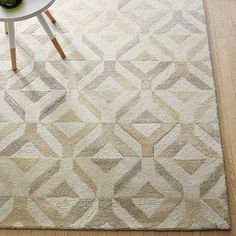 Marquis Wool Rug - Natural #westelm