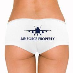 Custom Air Force Girlfriend Shirts, Undies, Tank Tops, & More