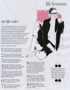 """""""My Life Rules"""" by Jenna Lyons - good advice for any young entrepreneur to follow!"""
