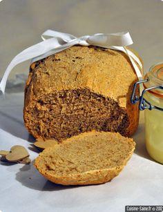 J'aime les pains complets, les pains aux graines diverses et variées, le pain de seigle aussi. J'aime aussi changer un peu, introduire de la diversité dans mon alimentation, varier ainsi les plaisirs et les apports en différents minéraux. Aller hop et si on ajoutait un peu de farine de kamut ? Lire la suite Lidl, Fresh Baked Bread Recipe, Freshly Baked, Bread Baking, Bread Recipes, Gluten, Nutrition, Meals, Vegan