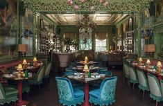 The Reinvention of Annabel's, London's Legendary Nightclub Fortuny Lamp, Majestic Fireplace, Eclectic Restaurant, London Nightclubs, Luxury Bar, London Blog, Rococo Style, Interior Design Studio, Colour Schemes