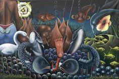 PIERRE BODO Né en 1953 à Mandu, République Démocratique du Congo. Vit et travaille à Kinshasa.