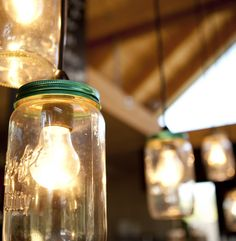 Piha Cafe light fittings