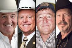 Runoff candidates for the nomination for Texas agriculture commissioner, from left to right: Republican former state Rep. Tommy Merritt, Rep...