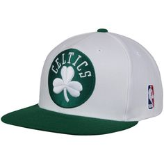 hot sale online 42127 0c624 Mitchell   Ness Boston Celtics XL Logo 2-Tone Snapback Adjustable Hat -  Green White, Your Price   25.99. NBA Caps   Hats