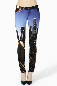 A city on the legs