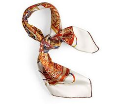 Hermes Scarves. I'm in love with colored rolled edge!!