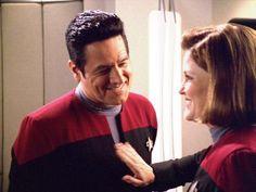 Chakotay & Janeway