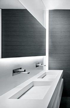 Victor Vasilev | Attico Migani | Lugano, Switzerland | 2011 #Whitebathrooms