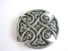 Celtic Shield Emblem Belt Buckle - Norseman  Buckle - Belts and Buckles