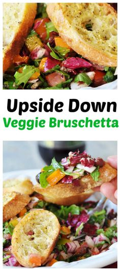 Turn bruschetta into