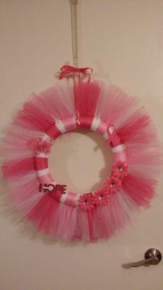 Pink Breast Cancer wreath!