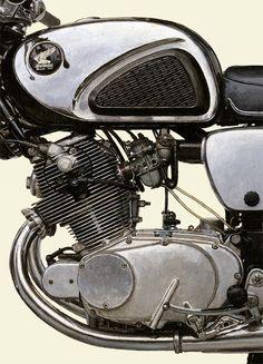 1960 HONDA Dream CB72 Super Sport