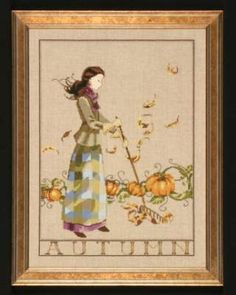 Autumn in My Garden by Mirabilia - Cross Stitch Kits & Patterns