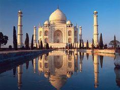 Taj Mahal in Agra, India.