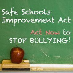 Stop bullying.