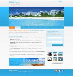 July 2011: Blisscape web design by xandreanx.