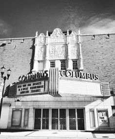 Visit this vintage theatre in Columbus, Nebraska. Photo by @thumbsmcgee. #visitnebraska #nebraska #columbusne #vintage #history #travel #explore #explorenebraska #nebraskagram #nebraskaphotography #blackandwhite