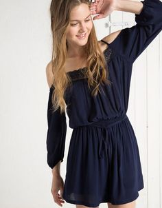 Bershka Belgium - Dresses and jumpsuits - Woman