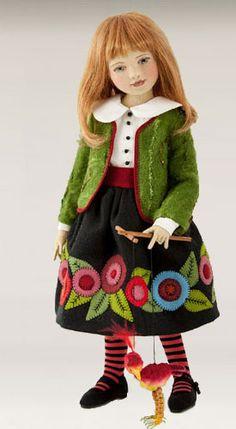http://www.maggiemadedolls.com  Quem quer me dar uma destas? Quero uma de cada, da Maggie Iacono! Rs...