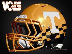 Tennessee Volunteers Helmet