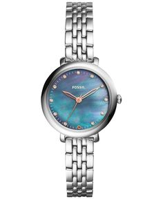 Fossil Women's Jacqueline Stainless Steel Bracelet Watch 26mm ES4210