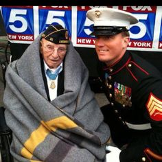 Oldest and youngest living Congressional Medal of Honor recipients.