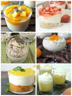 6 postres en vasitos fáciles y deliciosos | Cuuking! Recetas de cocina Dessert Shooters, Dessert Cups, Dessert Recipes, Mini Cakes, Cupcake Cakes, Cupcakes, Mini Desserts, Organic Recipes, Sweet Recipes