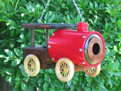 Bird House and Feeder - It's an RV for birds by RaysScraps on Etsy, $50.00