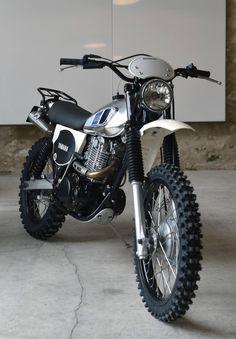 Ideas For Scrambler Motorcycle Yamaha Cars Trail Motorcycle, Motorcross Bike, Tracker Motorcycle, Scrambler Motorcycle, Enduro Vintage, Vintage Motocross, Vintage Bikes, Vintage Motorcycles, Custom Motorcycles